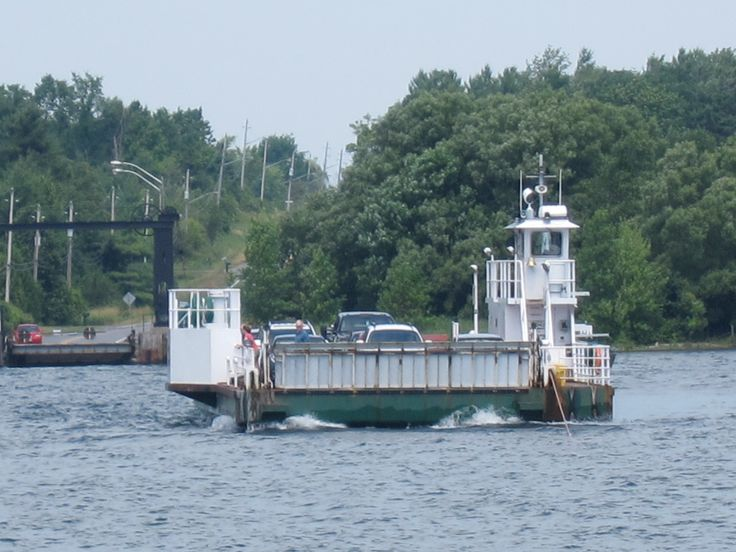 Main ferry (there are two).