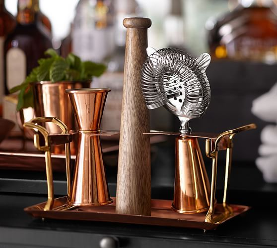Copper Bar Tool Set | Pottery Barn
