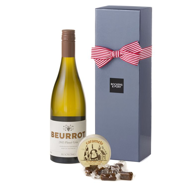Kooyong Pinot Gris + Caramels   Champagne + Wine Hampers   Bockers & Pony