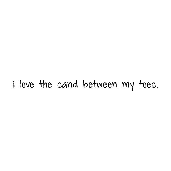 iheartk2's summer quote ❤ liked on Polyvore