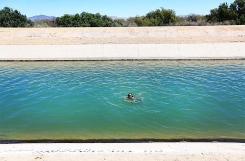 How to cool down in Slab City? Find the California water supply