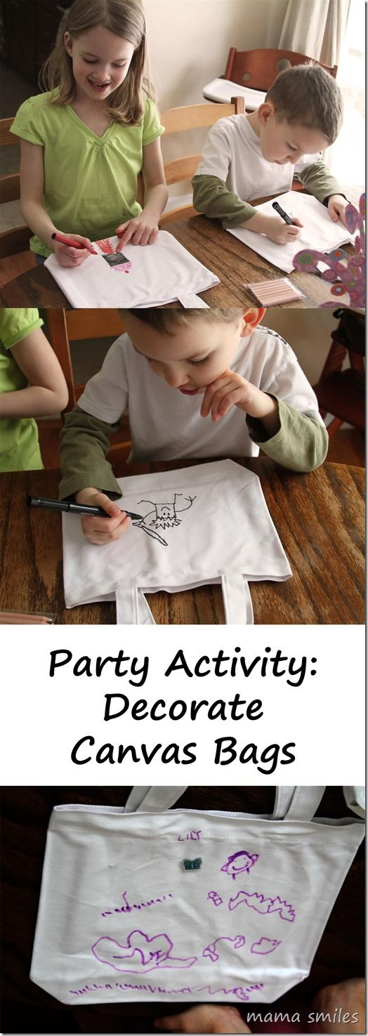Host a craft-themed birthday party! This post shares simple and fun ideas for boys and girls!