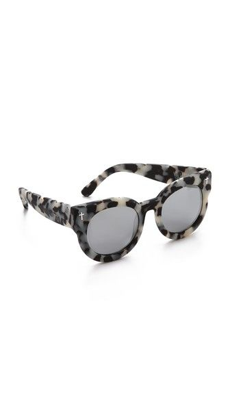 Valley Eyewear A Dead Coffin Club Sunglasses #leopard Http://rstyle.me