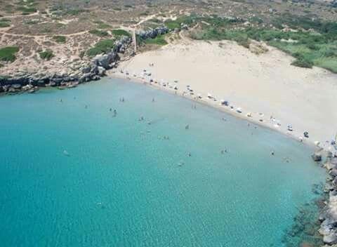 Spiaggia di Calamosche, riserva di Vendicari, Noto (Sr).