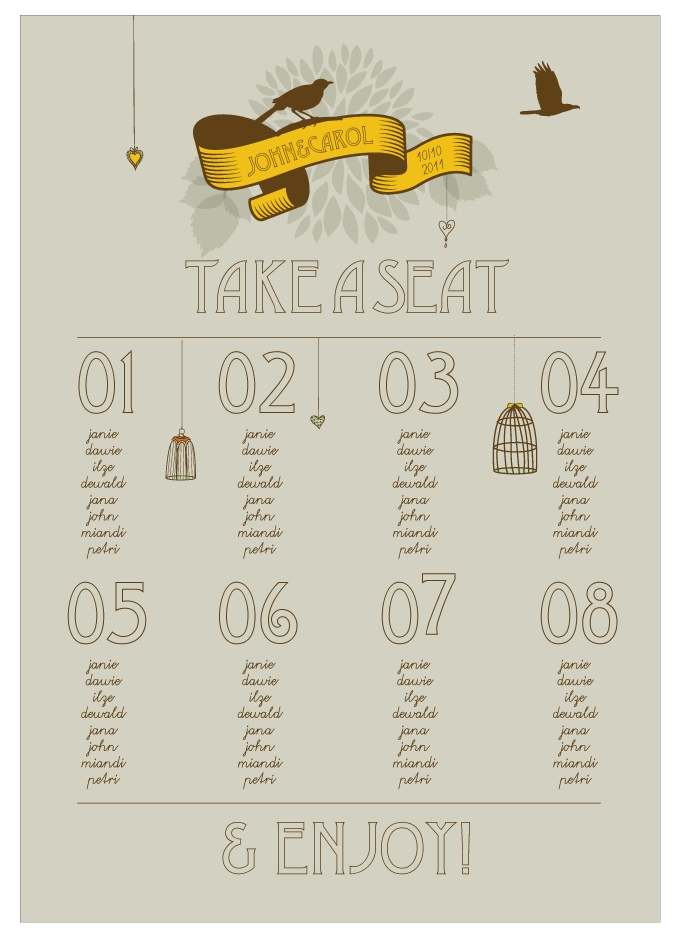 73 best images about table plans ideas prom on pinterest for Table plan board