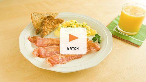 Microwaving Bacon > Start Cooking