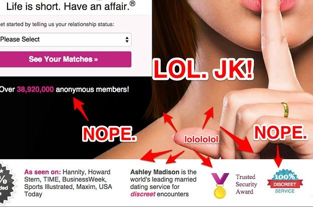 The Ashley Madison Hack Won't Change The Reckless Way We Live Online - BuzzFeed News
