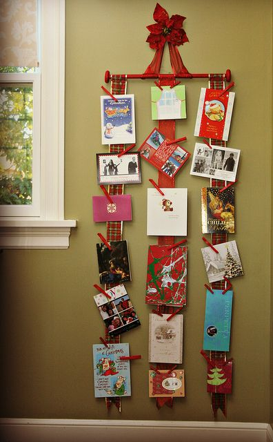 Finding BonggaMom: How to make a holiday card holder