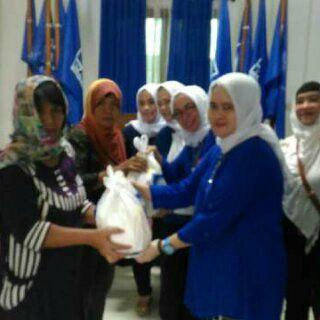 Perempuan PAN Provinsi Jambi Peduli
