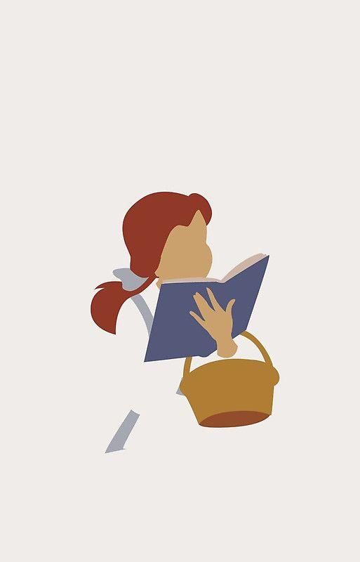 Minimalist Belle | Disney Silhouettes & Posters ...