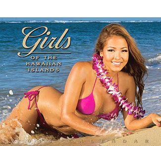 naked hawaiian girls calendar