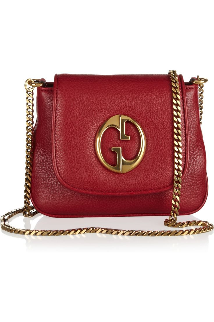 Gucci-This is the original G logo. This is a great bag and it comes in other colors but red is the best pop of color!