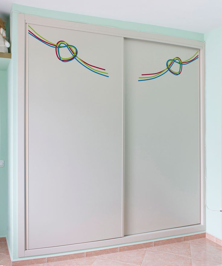22 best images about armarios empotrados a medida on - Armario blanco puertas correderas ...