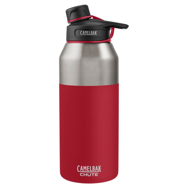 CamelBak Chute 40oz Stainless Steel Vacuum Insulated Water Bottle - Red