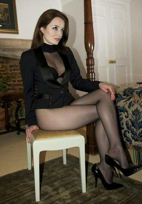 Cougar In Pantyhose 28