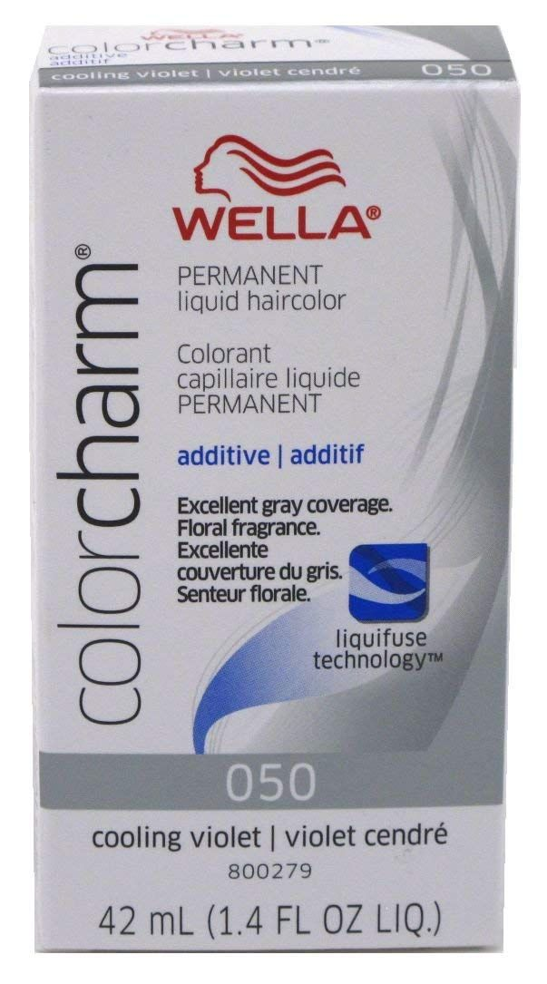 Wella Color Charm Liquid 050 Cooling Violet 41ml 3 Pack Click Image For More Details This Is An Affiliate Link Haircolor With Images Silver Hair Silver Hair Dye
