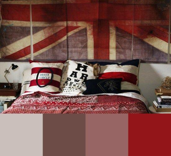 Οι 10 Ιδανικότεροι Συνδυασμοί Χρωμάτων στο Υπνοδωμάτιο - ΚΟΚΚΙΝΟ