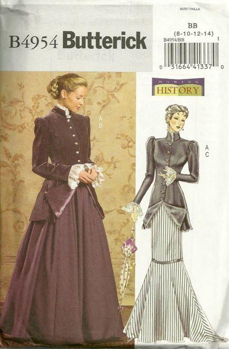 Vintage Butterick Dress Size 20