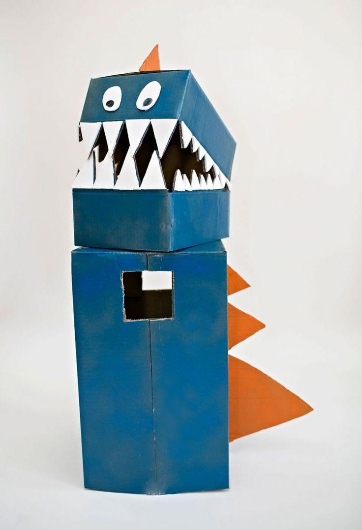 17 best images about masks for kids on pinterest bunny for Cardboard halloween decorations diy