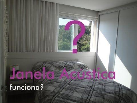 Janela Acústica funciona! - YouTube