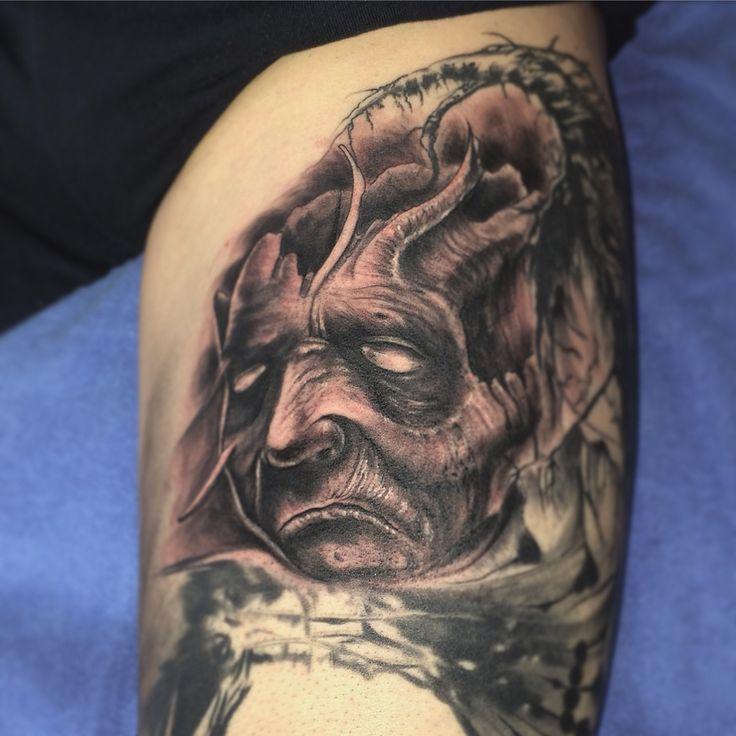 Skull#tattoo#freehand#hautbilder.com