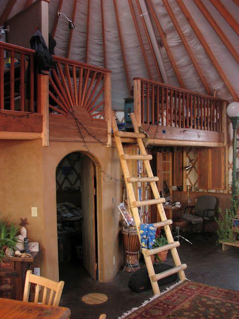 kheymah southwest adobe yurt home