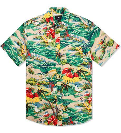 HUF Tropical Hawaiian S/S Woven Shirt