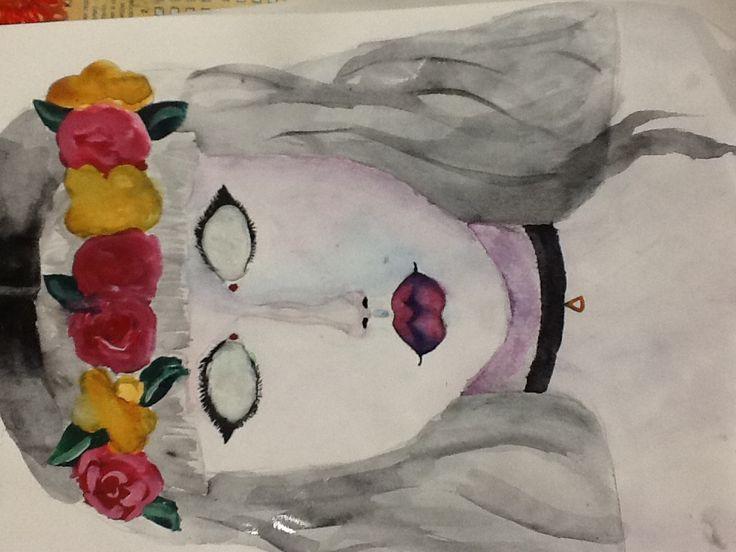 #рисунок #тумблер #девушка #Красотка