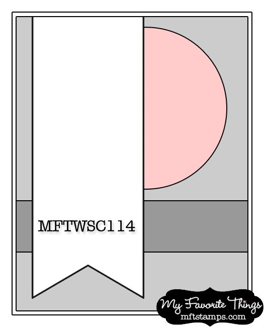 Card Making Layouts Ideas Part - 27: I Have A Card For This Weeku0027s MFT Wednesday Stamp Club.