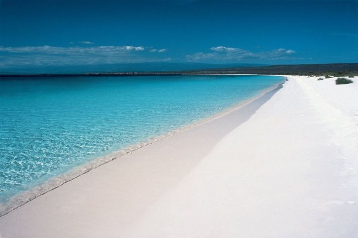 Bahía de la Águilas, Pedernales in the Dominican Republic - considered the best beach in the country.