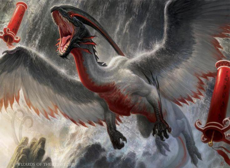 Belltoll Dragon - Dragons of Tarkir MtG Art