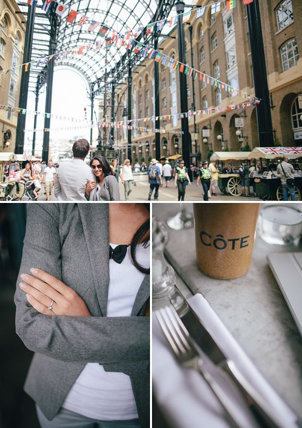 Quirky London Engagement Photo Shoot