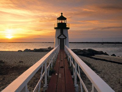 Brant Point Lighthouse, Nantucket Island, Massachusetts - One of my favorite places