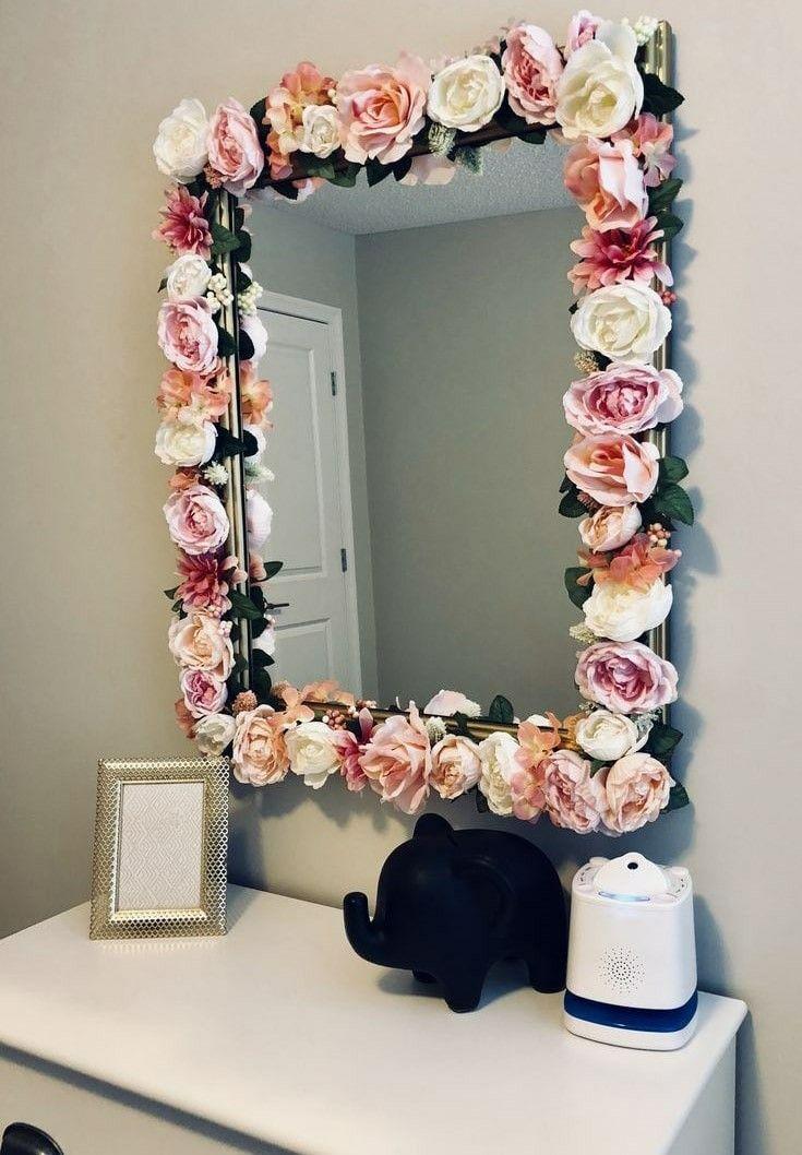 квартиру как красиво украсить зеркало своими руками фото помощью нашей компании