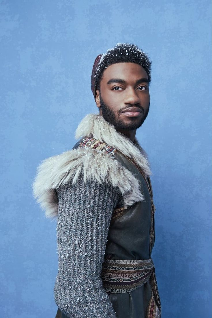 Frozen Broadway promo photo Jelani Alladin (Kristoff)