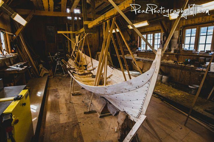 See boatbuilding up close #Nordlandsbåt #Kjerringøy #Nordland #NorthernNorway #VisitNorway Photo: Andy Austin/Peak Photography of Montana
