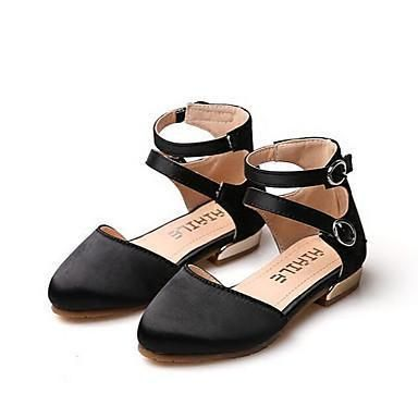 Girls' licorice Strap Casual Flat Shoes