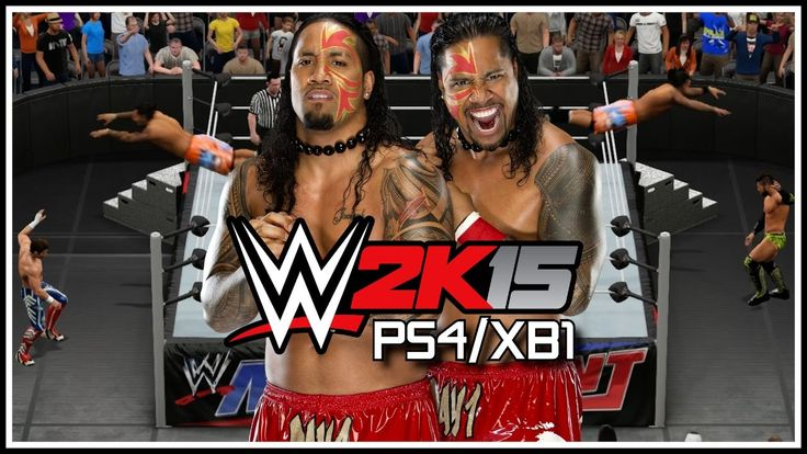 WWE 2K15 PS4/XB1 - The Usos Get Crazy! Stereo Suicide Dive OMG's!