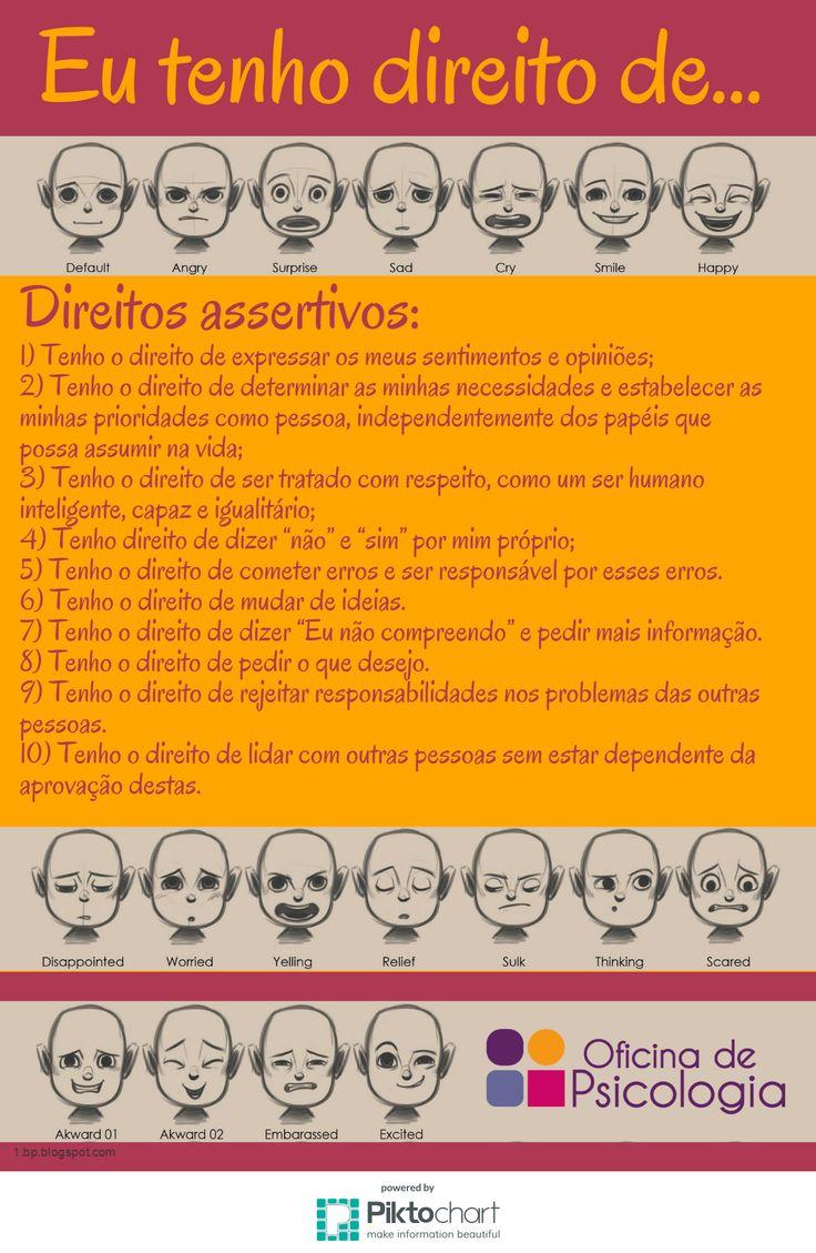 Os seus direitos. Exerça-os! http://oficinadepsicologia.com/ansiedade-social/