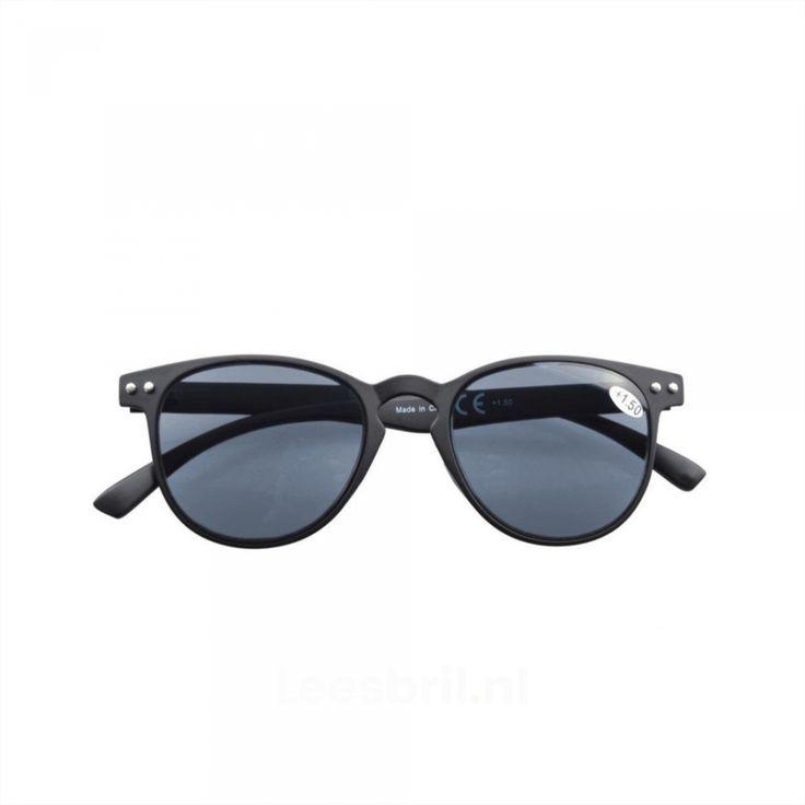 Sunny. Ultradunne Flex Frame ZonneLeesbril met grijze lenzen