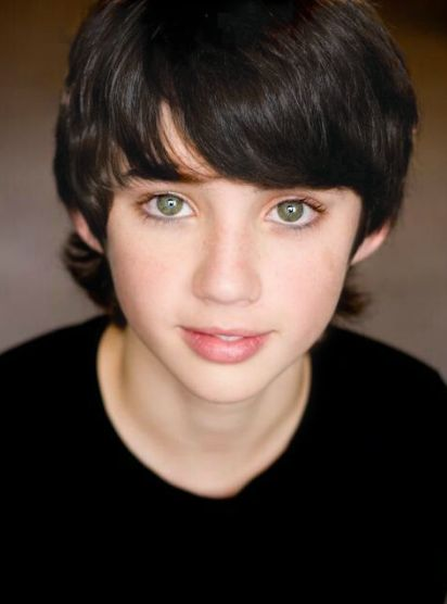 looks like he could be an awesome percy jackson if the