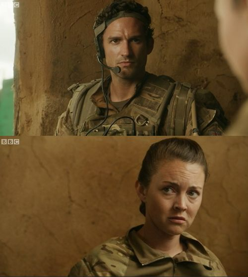 Risultati immagini per our girl molly and captain james