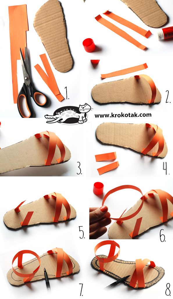 DESIGN YOUR OWN SANDALS