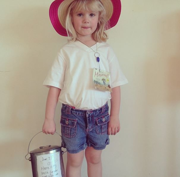 'Audrey of the Outback' Book Week Costume