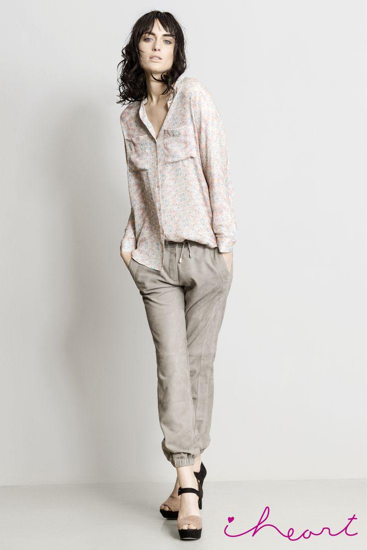 Silk shirt Meg Available online: http://www.sofinah.fi/product/407/shirt-meg-sea-grass