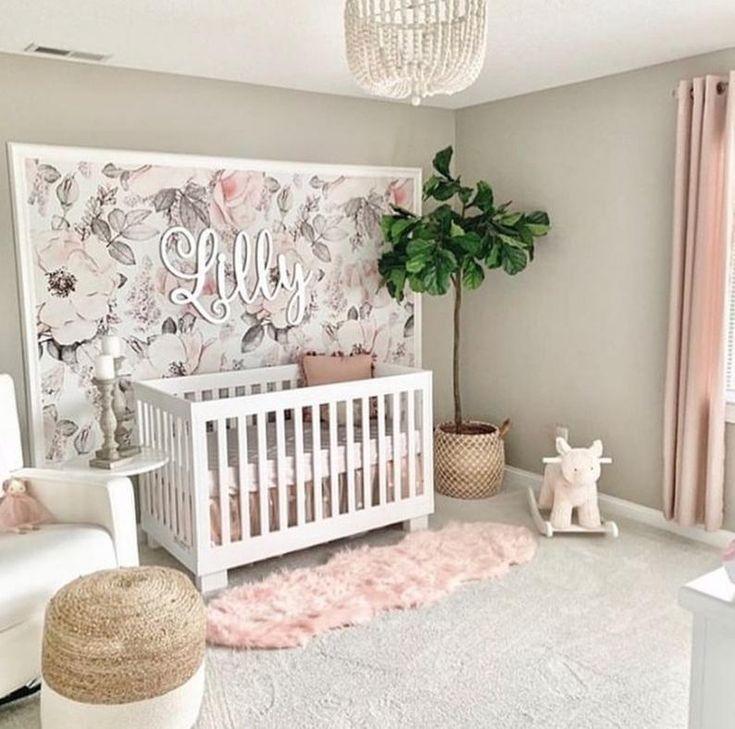 Nursery Ideas Themes Nursery Ideas Girl Nursery Room Baby Girl Wallpaper Baby Girl Nursery Room