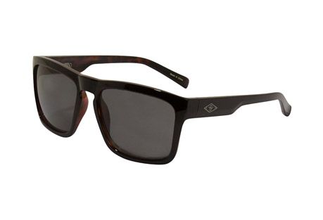 8b8dbb71578 Wilder   Sons  Steel  Polarized  Sunglasses Shiny Black Burlwood  Dark Smoke