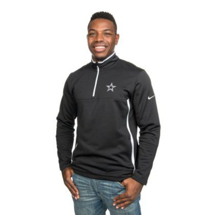 Nike Golf Men's Therma-Fit Cover-up  https://allstarsportsfan.com/product/nike-golf-mens-therma-fit-cover-up/  Long-sleeve pullover featuring half-zip placket and standing collar with interior Nike golf neck tape Side-entry hand pockets Therma-Fit double-knit pique for stretch, warmth, and mobility