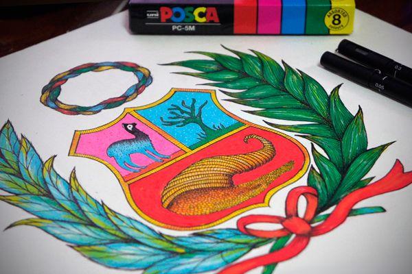 Ilustración: Escudo del Perú