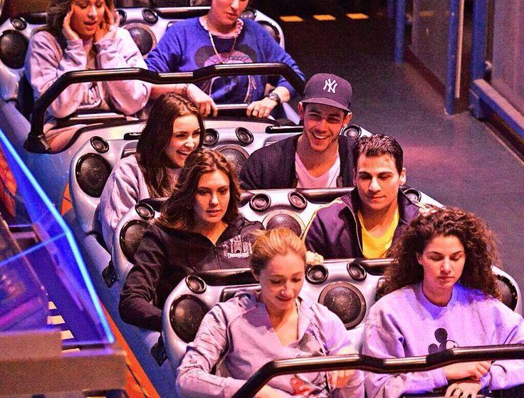 Nick Jonas and Olivia Culpo at Disneyland - http://missuniversusa.com/nick-jonas-olivia-culpo-disneyland/